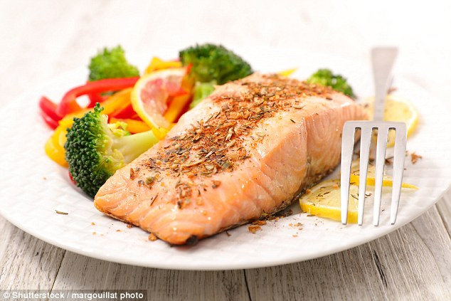 'Eating fish twice a week may keep your heart healthy'