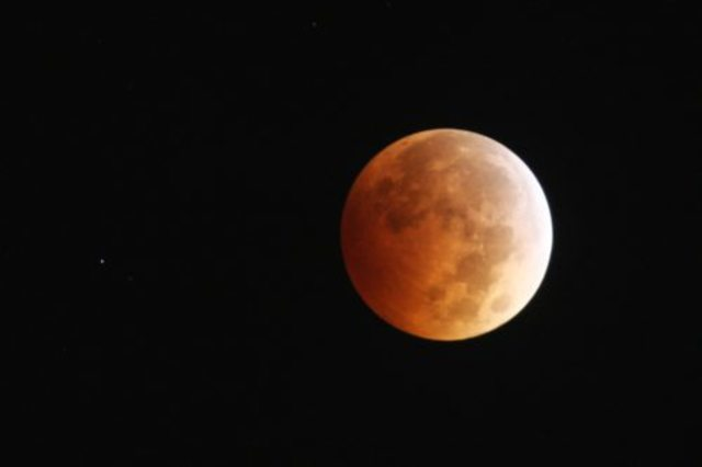 Thunderstorms could prevent some skygazers from seeing the 'blood moon' eclipse