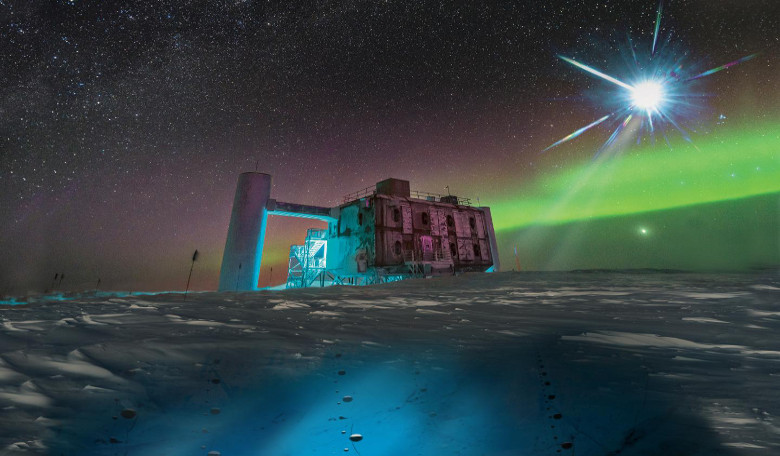 IceCube Neutrino Observatory traces ghost particle to distant galaxy