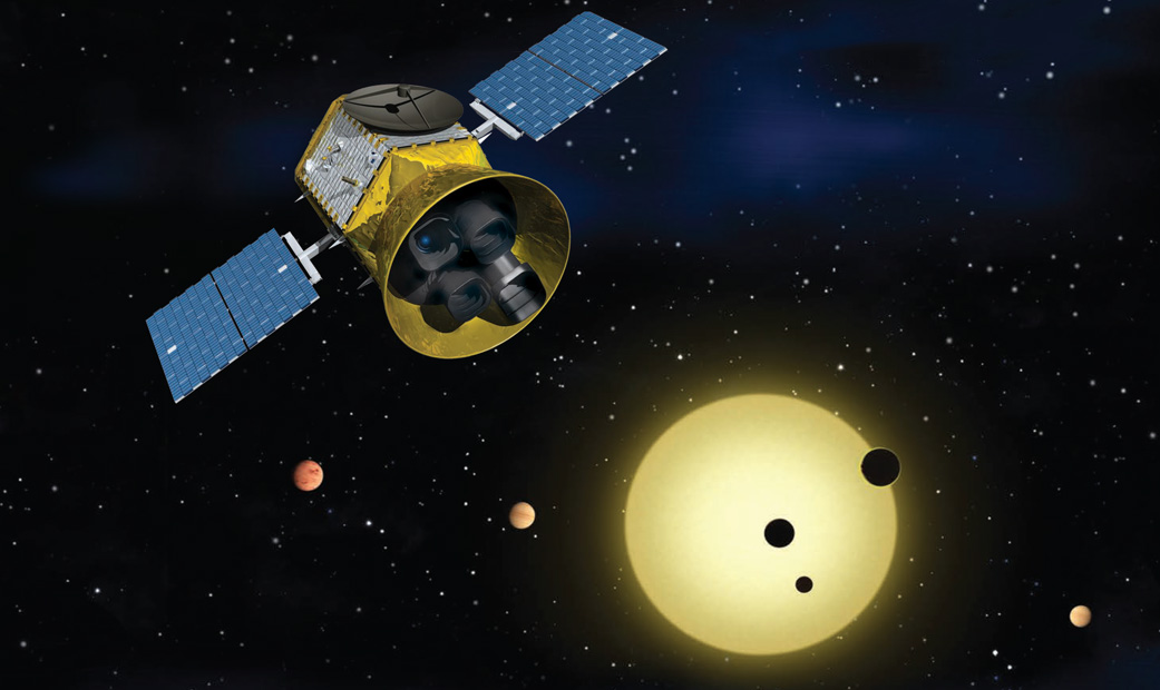 NASA's Planet-Hunting TESS Spacecraft Is Now Operational
