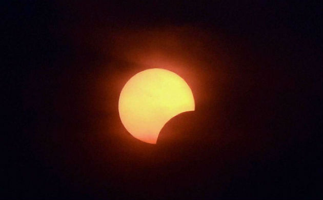 Partial solar eclipse on August 11