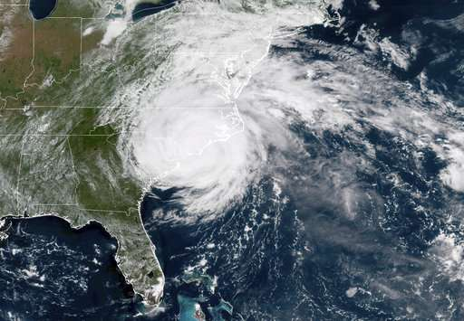 Global Warming Made Hurricane Florence Much Worse