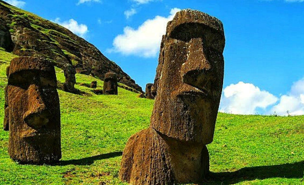 the secret of  u0026quot moai u0026quot  statues on easter island  finally