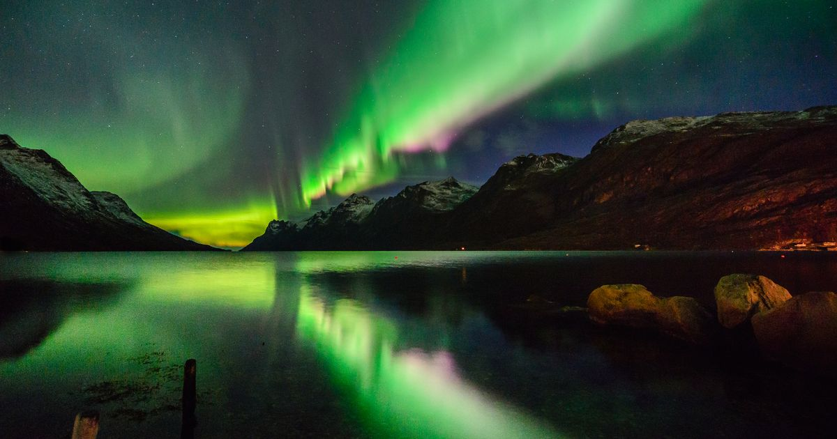 Northern Lights Pushed South Due To Recent Solar Storm ...