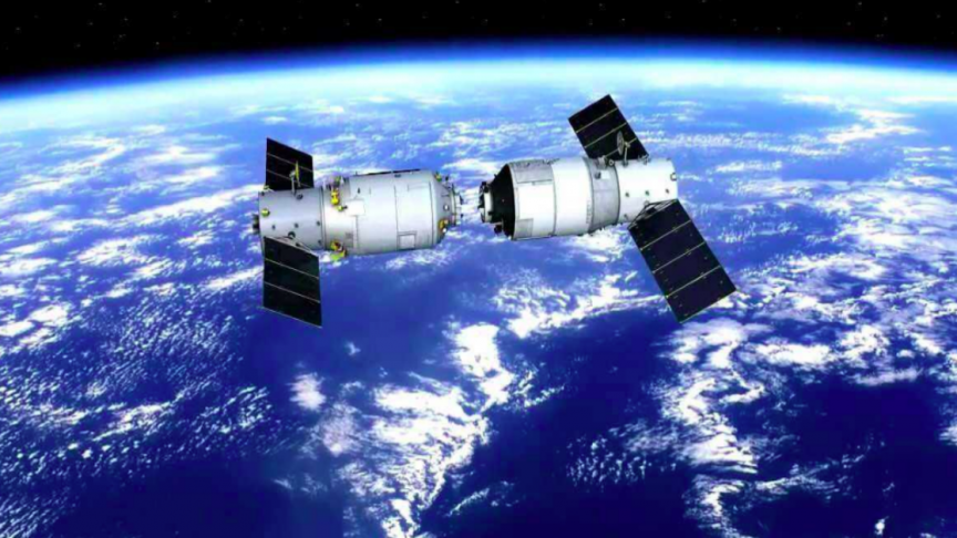 china space station falling to earth - 864×486